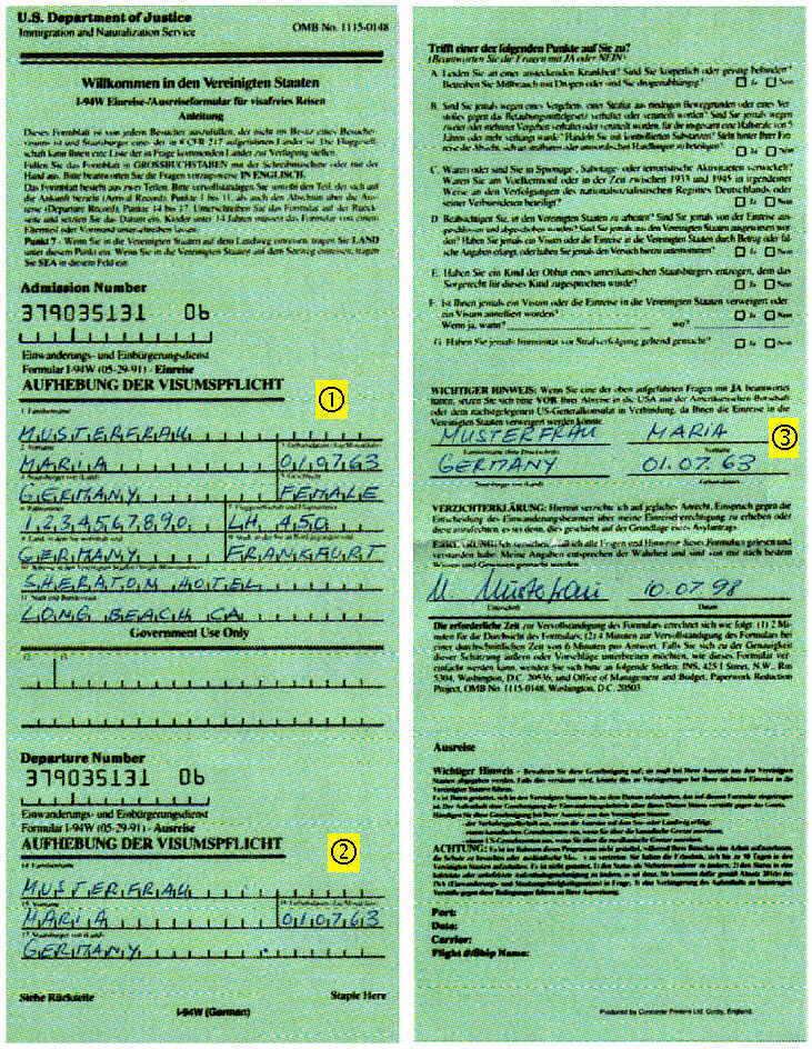 Diskussion & News - Einreisebestimmungen für die USA | Seite 2 ...